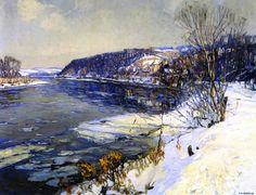 Edward Willis Redfield - The Upper Delaware