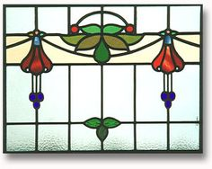 fuschias stained glass - Google Search