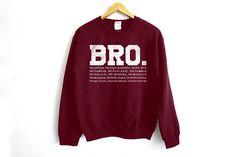 Bro Sweater How I Met Your Mother Sweatshirt Funny Jumper https://www.fanprint.com/stores/teeshirtstudio-fam?ref=5750