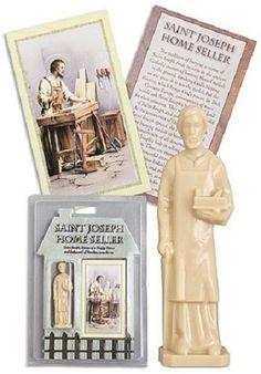 Saint Joseph Home Seller Statue Kit