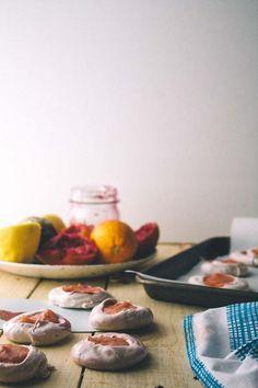 blood orange meringues | vegetarian ventures