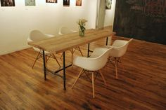 Image result for wood dining table ideas