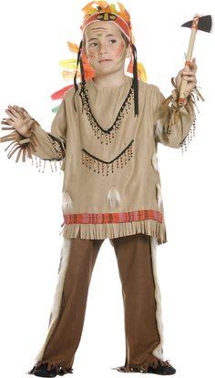 Disfraz de #indio comanche