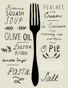 la cuisine du graphiste: Illustration