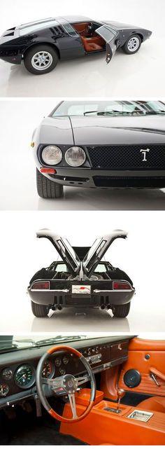 Pinned by http://FlanaganMotors.com.  De Tomaso Mangusta - Brilliant design by Giorgetto Giugiaro at Carrozzeria Ghia.