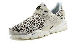 bc8fce1cf3c Really Cheap Girl WMNS Nike Sock Dart lightning Leopard print White Nike  Sock Dart Sale
