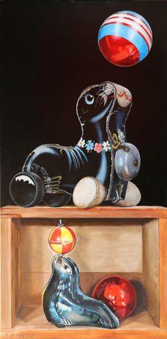 Still Life Oil Painting, The Darkest, Giclee Print, Seal, Greeting Cards, Fine Art Prints, Paper, Artist, Artwork