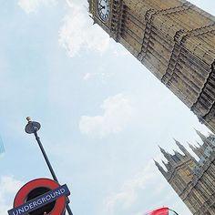 Big Ben from an unusual angle :-) #london #underground #bigben #breenatravels #travel #theworldismyhome #travellife #londonbus @transportforlondon