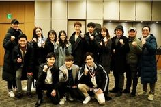 """EXO's Suho, Ha Yeon Soo, And More Attend Ceremony Of Good Luck For """"Rich Man, Poor Woman"""" Suho, Park Chanyeol, Drama Korea, Korean Drama, Water Birthday, Young Park, Sung Hoon, Rich Man, Good Luck"""