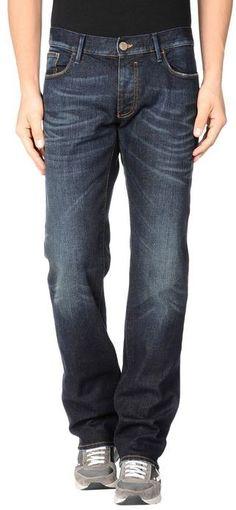 Armani Jeans Denim trousers on shopstyle.co.uk