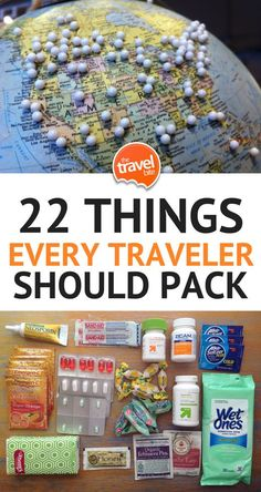 Travel Essentials: 22 Things Every Traveler Should Pack -- One of the questions we're most often asked via social media and email is for packing tips. While our advice might change depending on the destination, there are a few items we never leave home without. This packing list of travel essentials includes items we recommend always having in your bag — especially your carry-on. | thetravelbite.com | #travel #packing #PackingTips