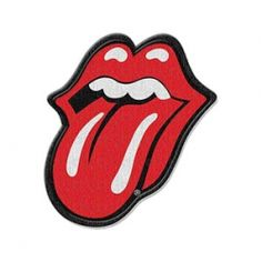 The Rolling Stones patch LIPS logo