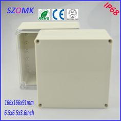 project case electronic enclosure (1 pcs)166*166*91mm pcb enclosure waterproof junction box  waterproof plastic enclosure