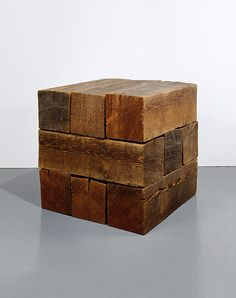 Collection Online   Carl Andre. Trabum (Element Series). conceived 1960 (executed 1977) - Guggenheim Museum