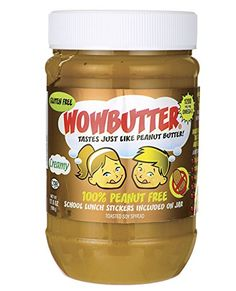 Shop the best Wowbutter Wowbutter - Creamy oz Jar products at Swanson Health Products. Trusted since we offer trusted quality and great value on Wowbutter Wowbutter - Creamy oz Jar products. Peanut Butter Alternatives, Lunch On A Budget, Healthy Packed Lunches, First Birthday Cake Topper, Kids Allergies, Boite A Lunch, Peanut Butter Sandwich, Butter Spread, School Snacks