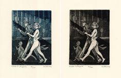 Master and Margarita Illustration original by BarbaraBernat