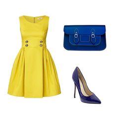 royal blue and yellow!
