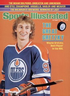 Oct 12 1981 issue of Sports Illustrated Hockey's Wayne Gretzky Cover Sports Magazine Covers, Si Cover, Hockey Pictures, Sports Illustrated Covers, Wayne Gretzky, Edmonton Oilers, Sports Figures, National Hockey League, Best Player