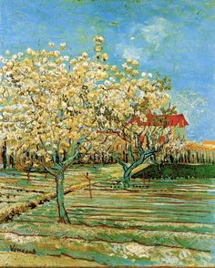 Vincent van Gogh / Orchard in Blossom, 1888