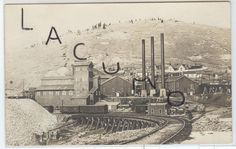 VICTOR ? Cripple Creek ? Colorado US USA postcard RPPC Mine mining shaft