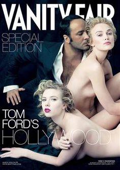 """Vanity Fair"", March 2006 (Tom Ford, Keira Knightley, Scarlet Johansson)"