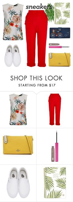 """Fresh"" by enamorado-dina ❤ liked on Polyvore featuring River Island, Coach, Urban Decay, Vans and Relic"