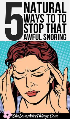 Putting up with someone else is snoring can turn you into a literal zombie during the daytime. Here are five natural ways to stop the snoring #snoring #sleep