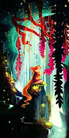 The lovely digital art of  Tigermint / The amazing digital art