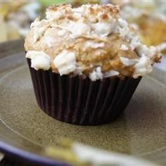 Caribbean Banana Muffins -- with some of the native ingredients of the islands, you'll be hearing the steel drums in no time! (they're harder to play than you'd think, man. Think percussion AND hand-eye coordination AND improvisation. Not so fun.)