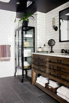 faience salle de bain leroy merlin noir et blanc