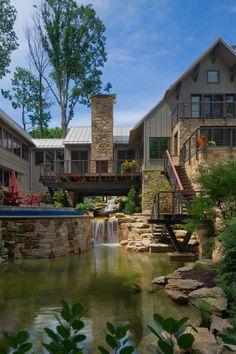 Bridge House, Ohio. Peninsula Architects.