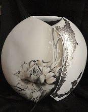 Vase à la fleur de pivoine