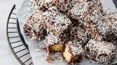 Pastry+and+sweets+legend+and+Family+Food+Fight+judgeAnna+Polyviou+teams+up+with+ALDI's+Expressi+coffee+machine+to+reinvent+the+iconic+national+cake,+the+lamington.