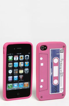 Rebecca Minkoff 'Cassette Tape' iPhone 4 & 4S Case available at #Nordstrom