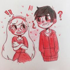 But blushes