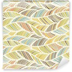 Modern Earth Tone Waves Pattern Shower Curtain - home decor design art diy cyo custom Prepasted Wallpaper, Fabric Wallpaper, Of Wallpaper, Wave Pattern, Pattern Art, Pattern Images, Vector Pattern, Queen Size Duvet, Art Diy