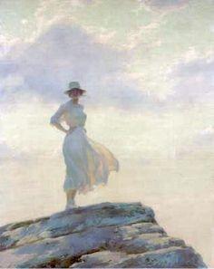 Charles Courtney Curran - 'The Veiled Cloud'
