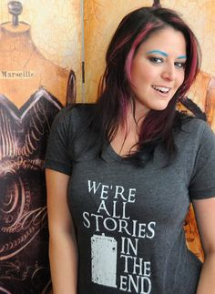 doctor who tshirt stories