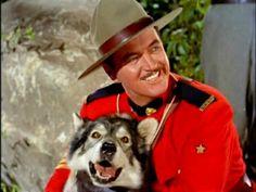 Sergeant Preston (Dick Simmons) and his wonder dog Yukon King. Preston, Cops Tv, Richard Simmons, Fictional Heroes, The Lone Ranger, Tv Westerns, Vintage Tv, Vintage Hollywood, Thing 1