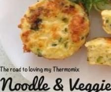 Noodle and Vegetable Frittata | Official Thermomix Recipe Community