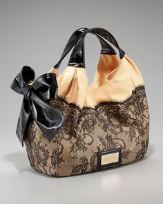 Nuage Straw Lace Tote by Valentino at Bergdorf Goodman.
