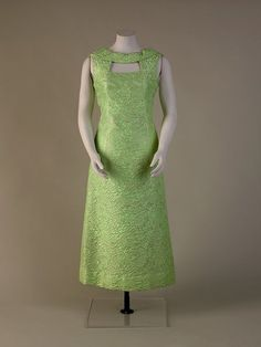1967-70, Evening dress. Sudley House, Liverpool Museums, UK.