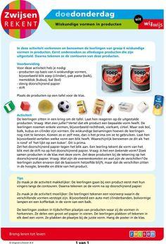 Wiskundige vormen in producten (groep 6)