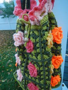 Apple Blossom Dreams: Granny Rose Bag