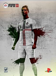 EA Sports FIFA 2013 - Game Cover Design by Carl Bannister, via Behance