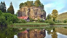 Sloup hrad Rarity, Czech Republic, Mount Rushmore, Grand Canyon, Places To Visit, Mountains, Nature, Travel, Palaces