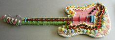 Guitare électrique tout en bonbon