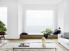 Deco Bow window or Window seat 8 Home Decor Bedroom, Interiores Design, Interior Design Inspiration, Home And Living, Modern Living, Minimal Living, Interior Architecture, Living Spaces, Living Rooms