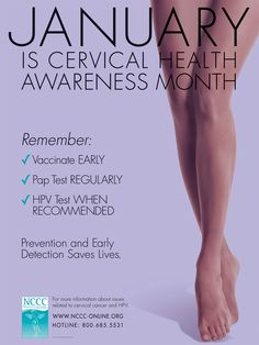 January is National Cervical Cancer Awareness month. Make sure to get a PAP Test regularly! What Is Ovarian Cyst, Types Of Ovarian Cancer, Treatment For Ovarian Cancer, Ovarian Cancer Symptoms, Endometriosis, Health Awareness Months, Cancer Awareness, Addiction Help
