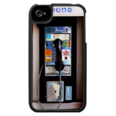 Funny Public Pay Phone iPhone 4 Case